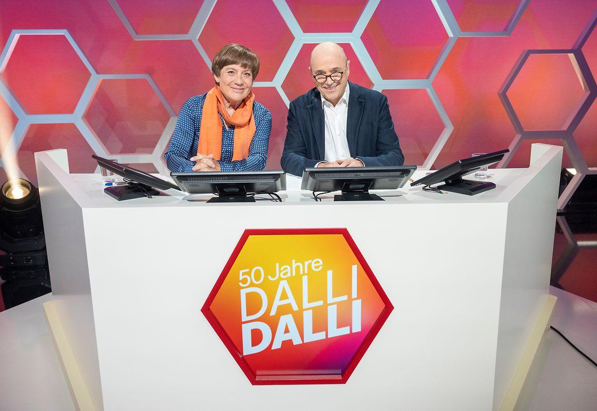 Die Jury: Christian Neureuther - hier neben seiner Frau Rosi Mittermaier - war von 1980 bis 1984 bereits Jurymitglied der Kultshow.