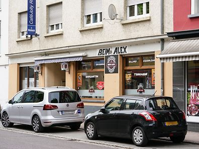Café beim Alex ,Wasserbillig. Foto:Gerry Huberty