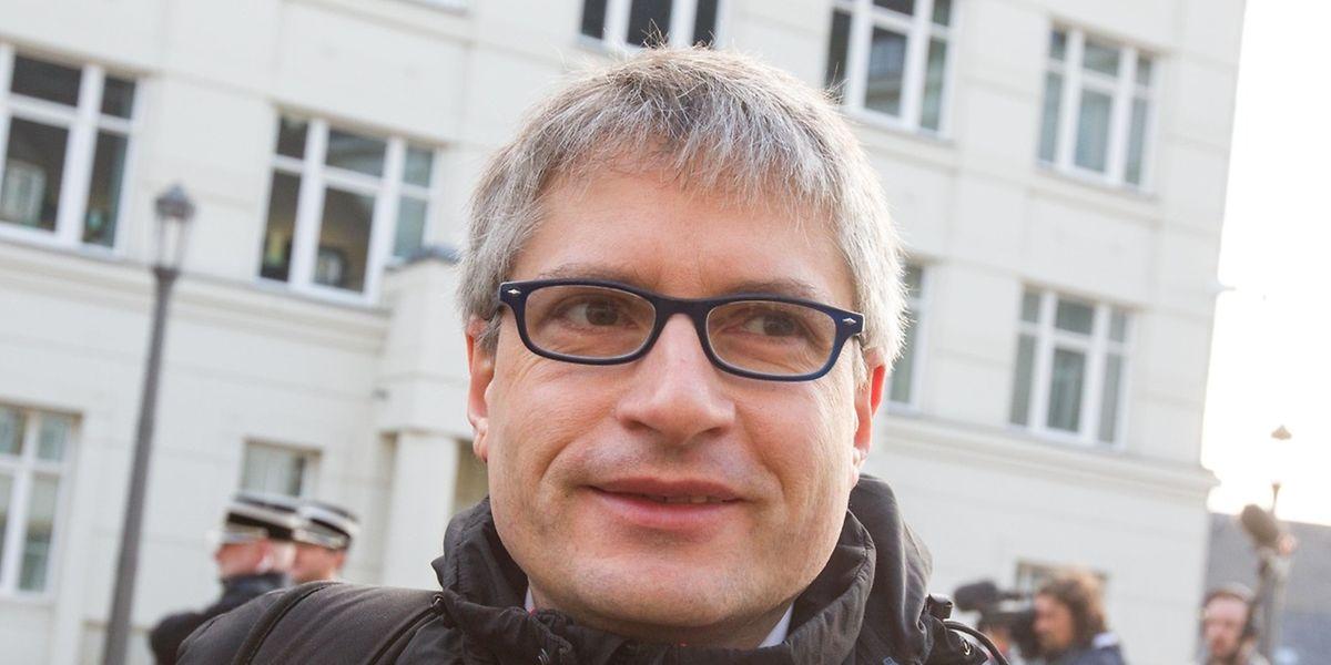 Sven Giegold kam auf Einladung der Verteidigung zum Prozess.