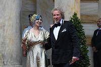 Entertainer Thomas Gottschalk und seine Frau Thea Sie haben zwei Söhne.