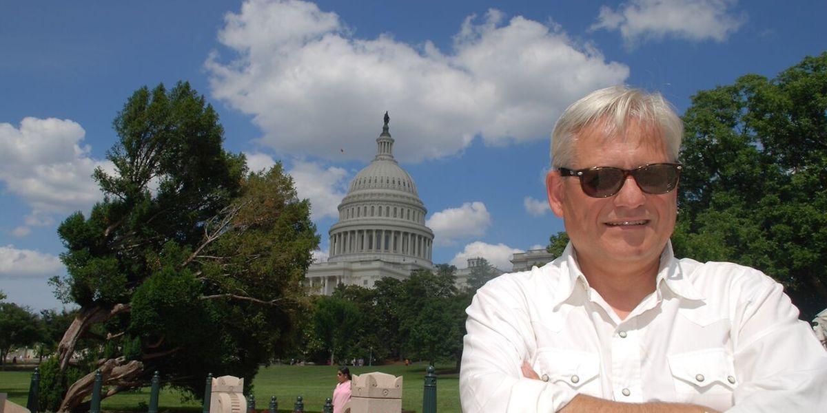 """Von seinem Büro in Washington verfolgt Thomas Spang den US-Vorwahlkampf für das """"Luxemburger Wort""""."""