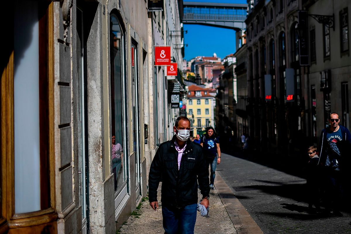 Même le fameux quartier du Chiado, dans la capitale portugaise, est déserté par les touristes.