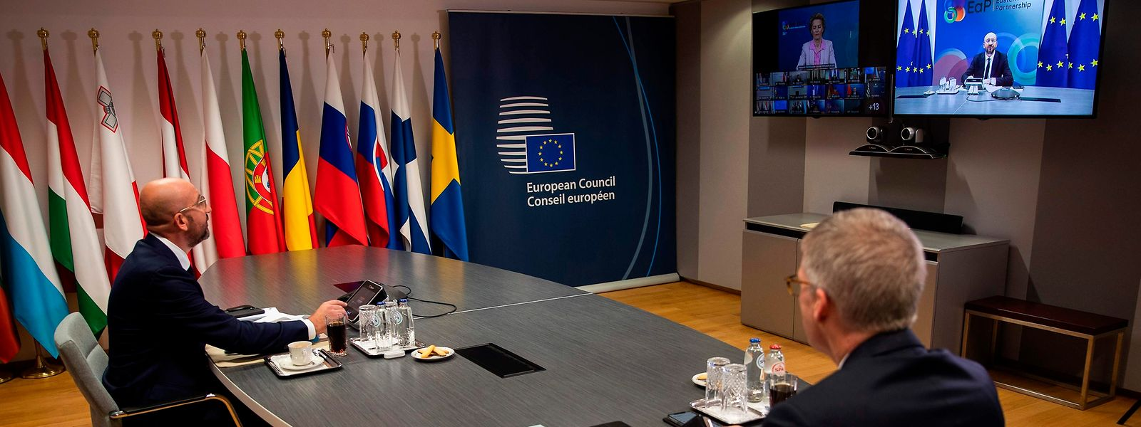 Le président du Conseil Charles Michel attend de la part des 27 qu'ils trouvent un compromis.