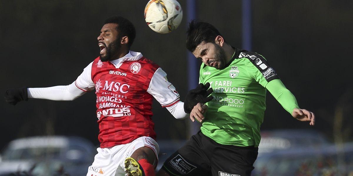 Ilies Haddadji et les Mondorfois ont obtenu une précieuse victoire contre le FC Wiltz de Junior Joachim.