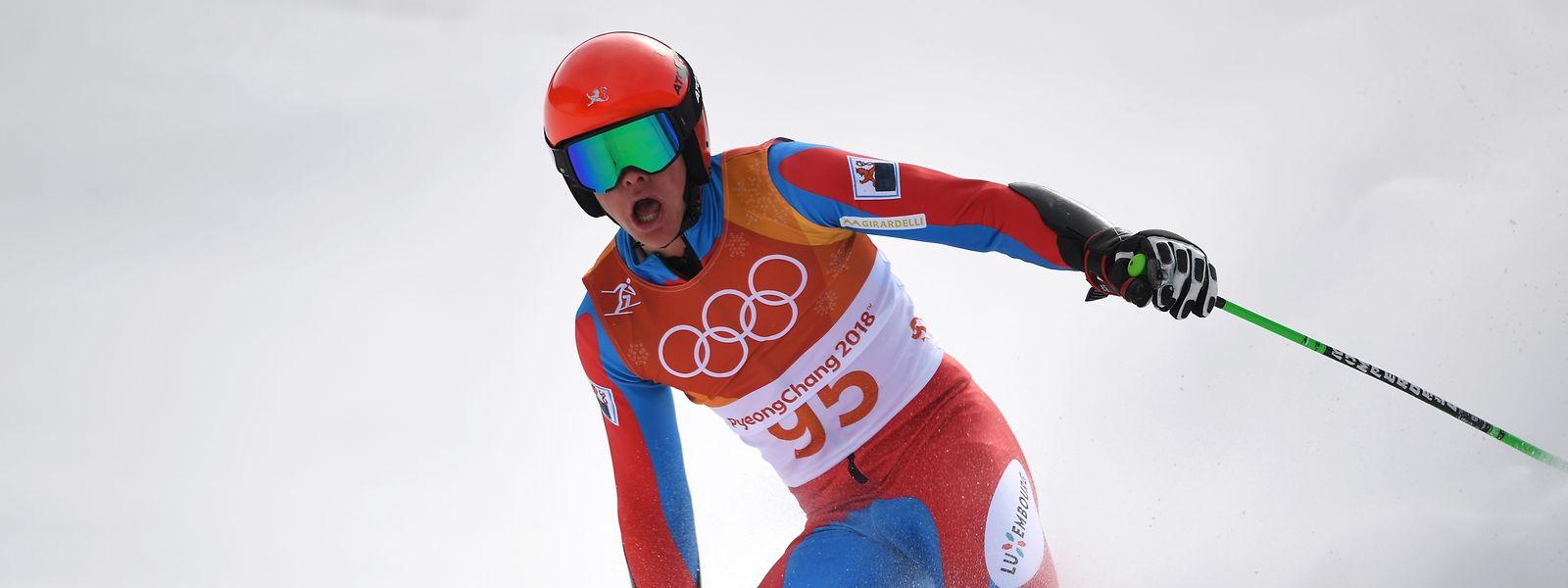 Platz 28 springt im Slalom für Matthieu Osch heraus.