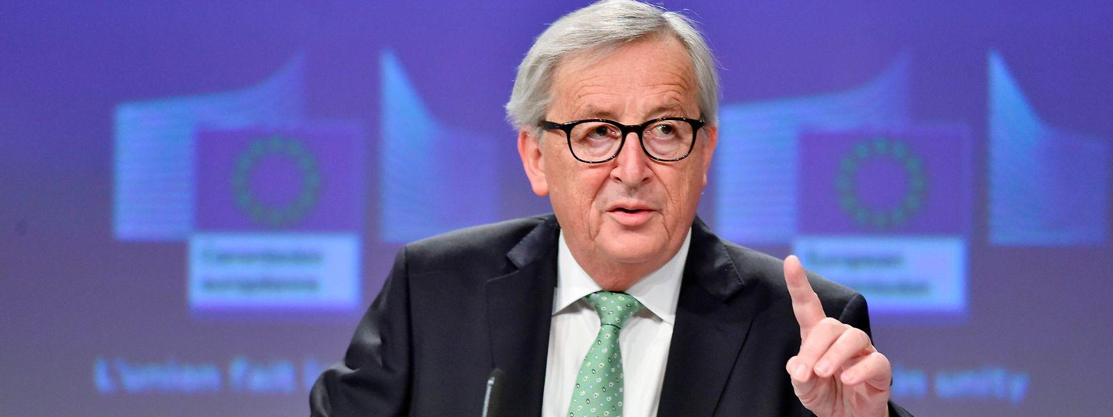 Le Président de la Commission européenne, Jean-Claude Juncker, quittera ses fonctions fin octobre prochain.