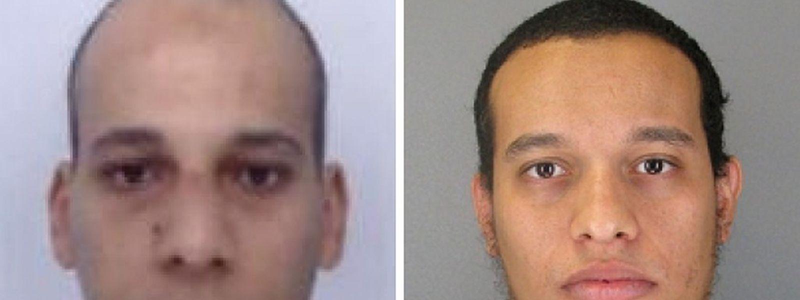 Vor allem Cherif Kouachi (l.), der mit seinem Bruder Said das Attentat verübt haben soll, war den Behörden als Dschihadist bekannt.
