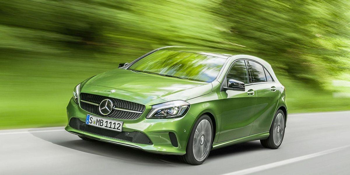 Die Mercedes-Benz A-Klasse wurde optisch kaum verändert, da es dazu laut Daimler keinen Grund gab.