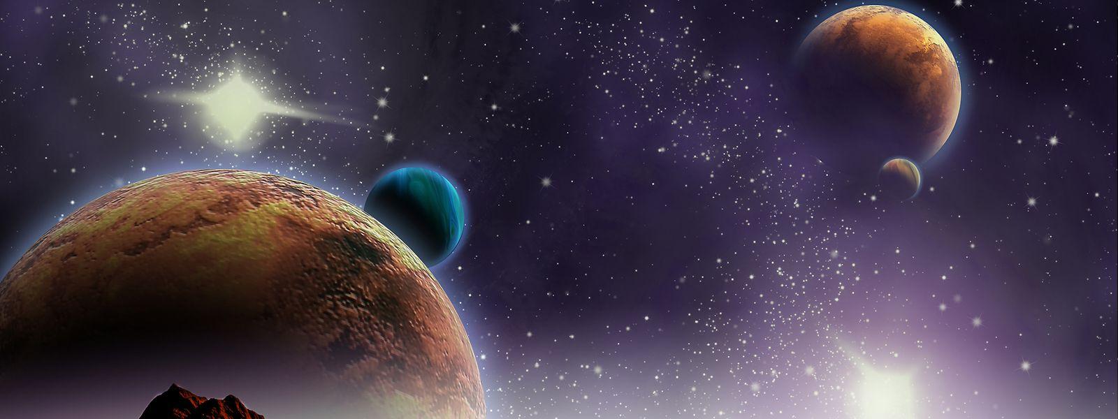 Das Weltall, unendliche Welten ... auch Luxemburg möchte bei ihrer Erforschung dabei sein.