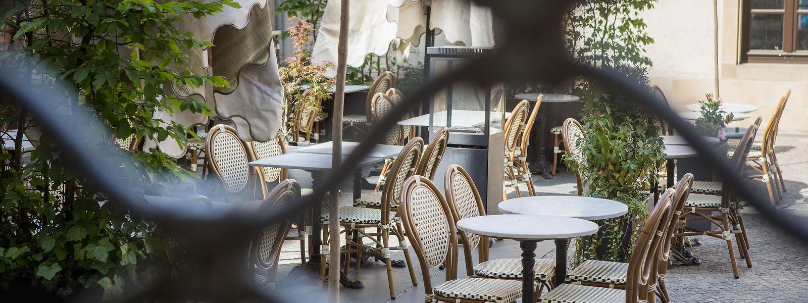 La profession exige qu'au moins les parties extérieures des cafés et restaurants puissent ouvrir dans un premier temps.