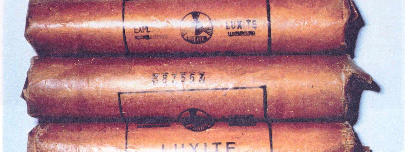 Bei den Attentaten setzten die Bommeleeër Industriesprengstoff aus Luxemburger Produktion ein.