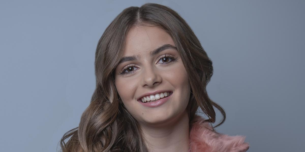 Rita Laranjeira, a representante portuguesa no JESC 2018