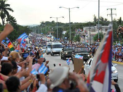 Le dernier hommage des Cubains à Fidel Castro
