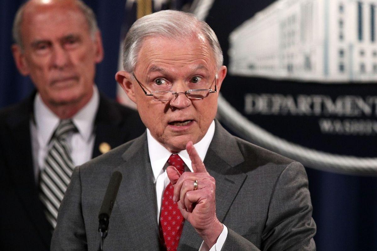 Jeff Sessions, US-Justizminister: Von ihm ist Trump enttäuscht.