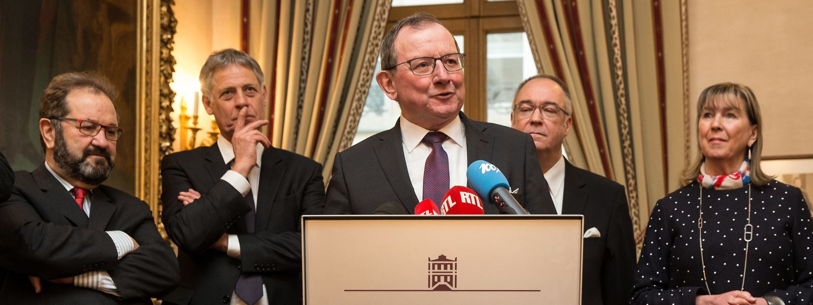 Fernand Etgen, président de la Chambre des députés: «Une campagne de sensibilisation sur la future Constitution va être préparée dans les semaines à venir».