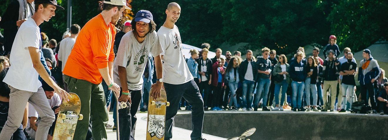 Une soixantaine de skateurs sont en compétition pour gagner le premier prix d'une valeur de 3.500€.
