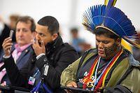 Auch die indigenen Völker sind besonders vom Klimawandel gefährdet.