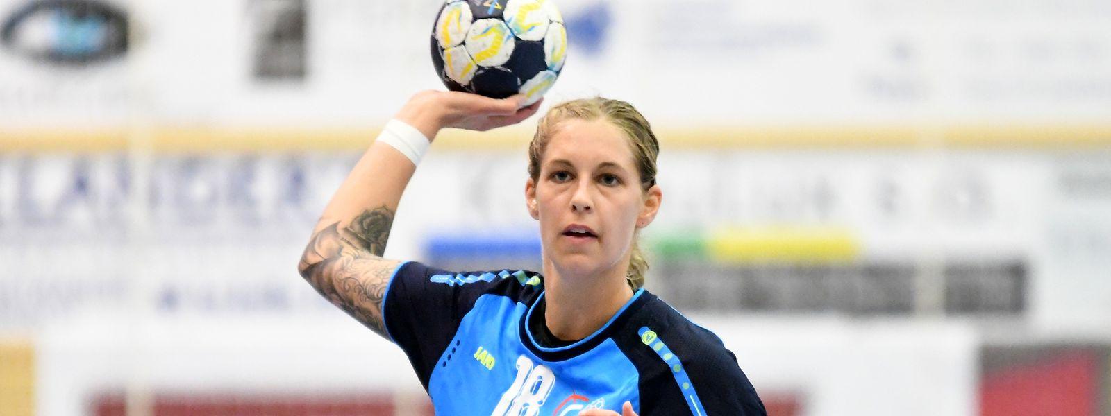 Tina Welter ist der Dreh- und Angelpunkt der Nationalmannschaft.