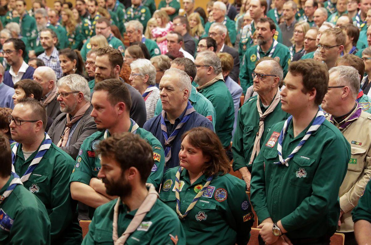 Vertreter der 5000 Mitglieder aus dem Land waren präsent.