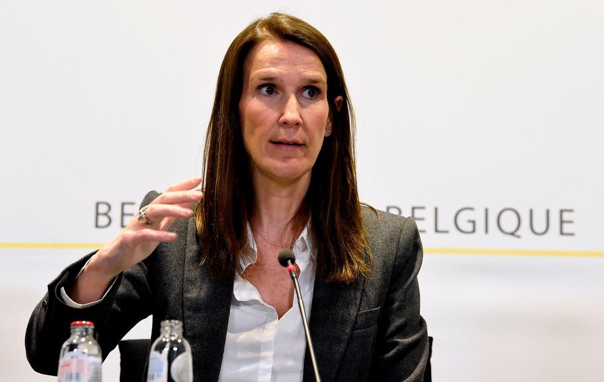 La Première ministre Sophie Wilmes préconise un déconfinement graduel et progressif