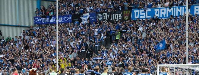 Die Bielefelder und ihre Fans müssen sich Sorgen um die Finanzen des Clubs machen.