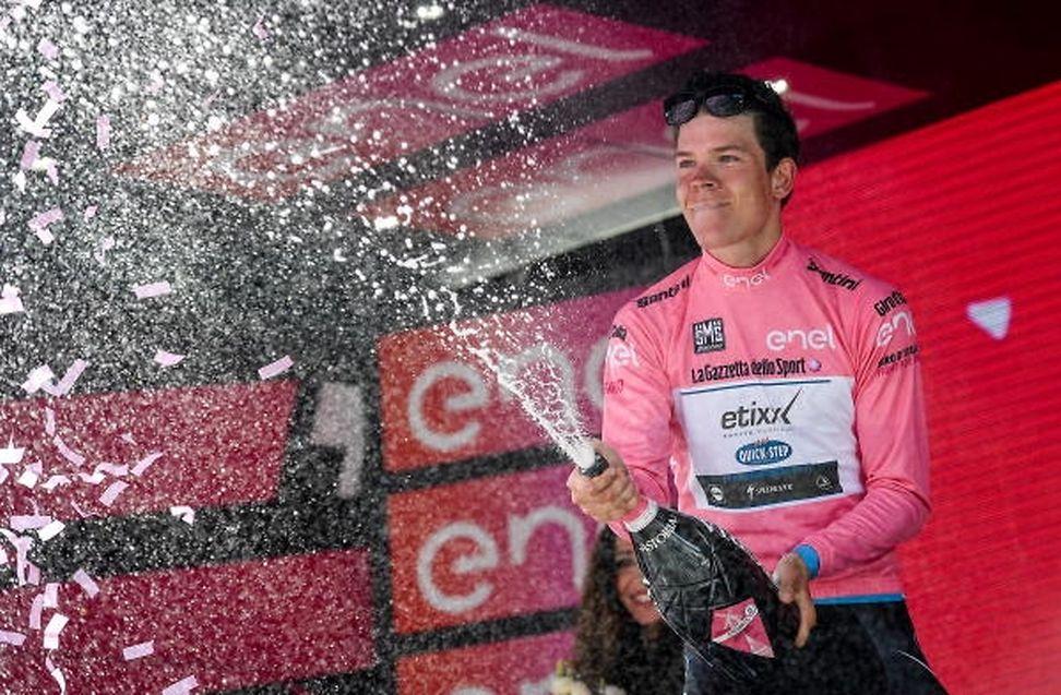 Bob Jungels übernahm zeitweilig die Führung in der Gesamtwertung des Giro d'Italia.