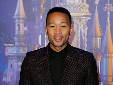 Recording artist John Legend poses for photos during the 25th anniversary of Disneyland Paris, at the park in Marne-la-Vallee, near Paris, France, March 25, 2017. REUTERS/Benoit Tessier