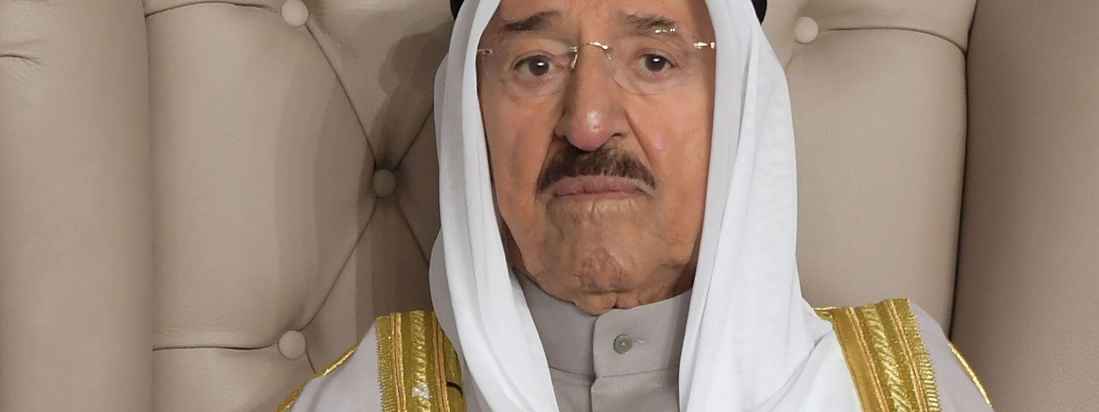 Scheich Sabah auf einer Archivaufnahme aus dem Jahr 2019.