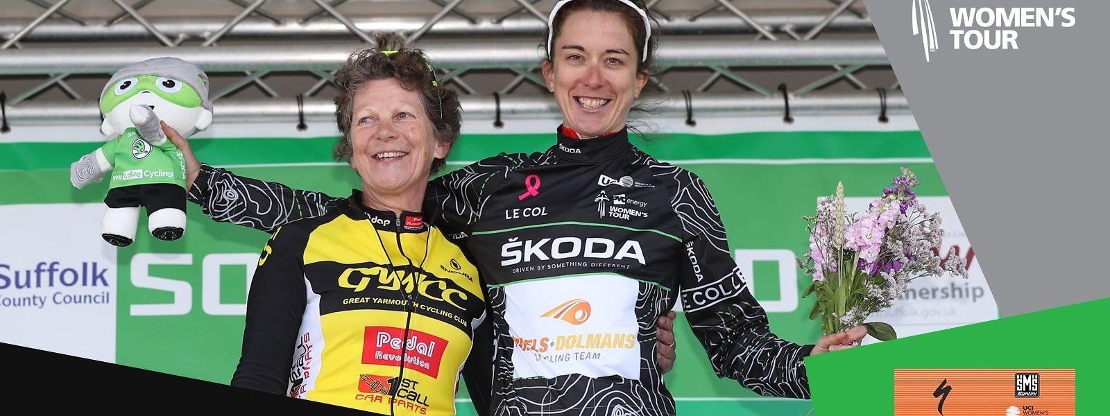 Christine Majerus a enfilé le maillot de meilleure grimpeuse.