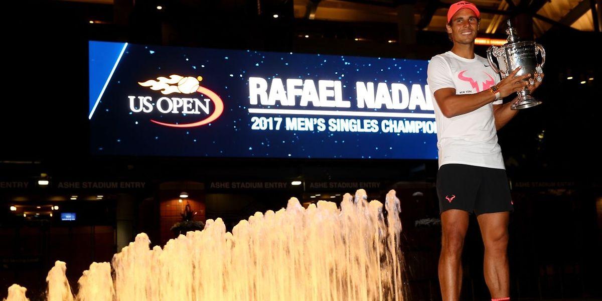 Pour la troisième fois de sa carrière, Rafael Nadal s'est imposé à Big Apple.