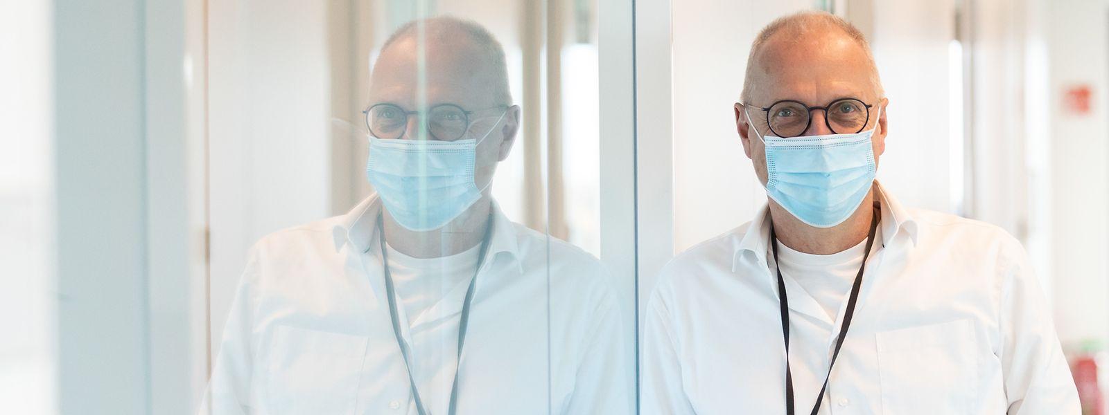 Der Direktor der Santé, Dr. Jean-Claude Schmit, bleibt trotz der vielen Neuinfektionen optimistisch.