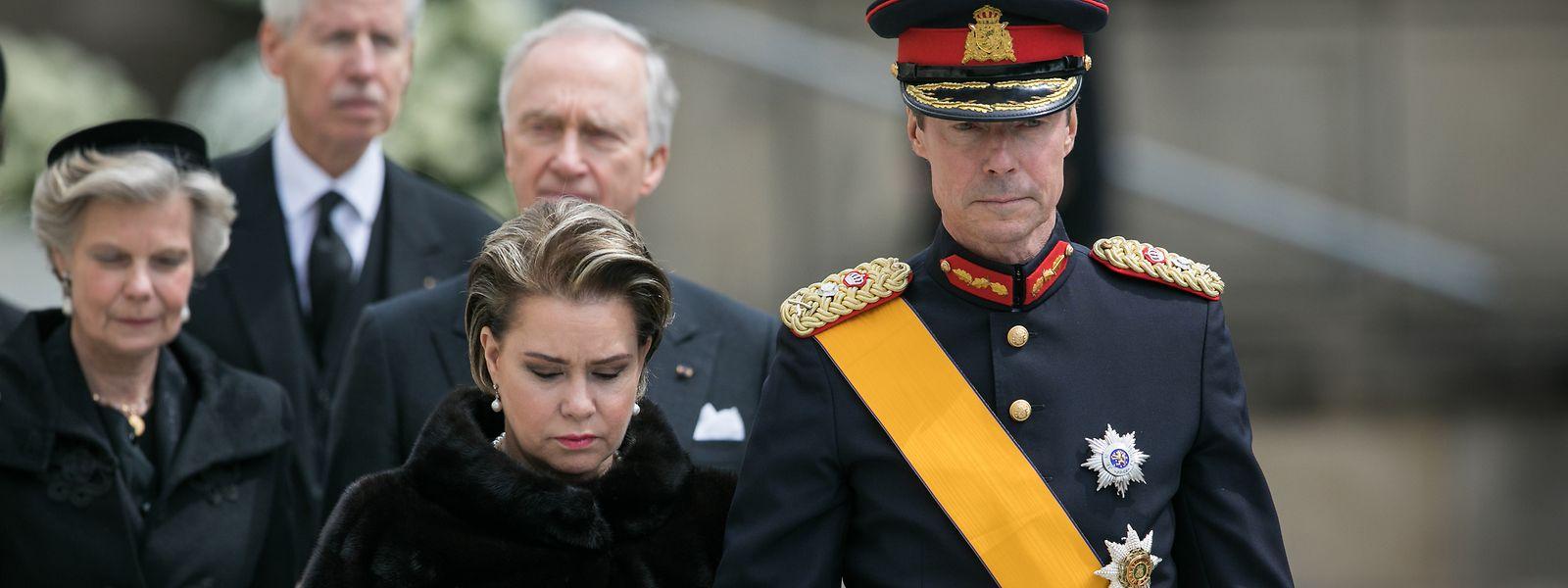 Pour la Cour et le pays, 2019 aura été marquée par les obsèques du Grand-Duc Jean, en mai dernier.