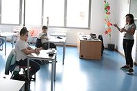 Lokales,  Schule, Erneuter,  Fieldgen, Schüler, Schülkinder, Coronavirus, Covid-19, Foto: Chris Karaba/Luxemburger Wort