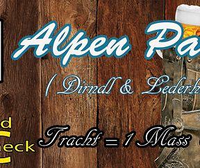 Alpen Party  (Dirndl & Lederhosen)