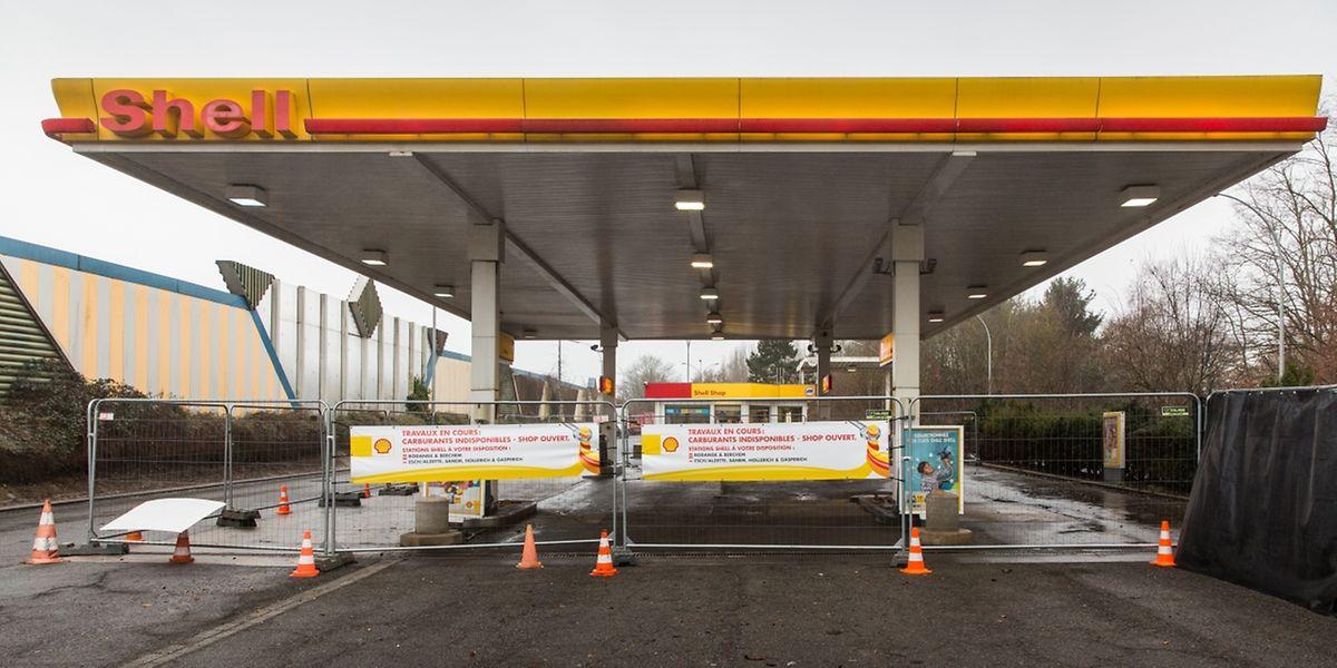 Die Arbeiten an der Shell-Tankstelle in Höhe von Steinbrücken sollen in Kürze beginnen. Doch sie werden gut drei Monate in Anspruch nehmen.