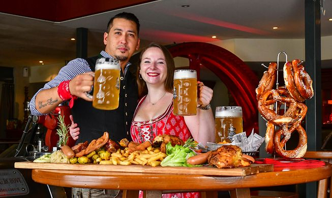 The Munich Oktoberfest may be cancelled but you can head to Clausen in your dirndl or lederhose