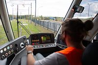 Newsdesk, Illustration Tram, Luxtram, Foto: Chris Karaba/Luxemburger Wort