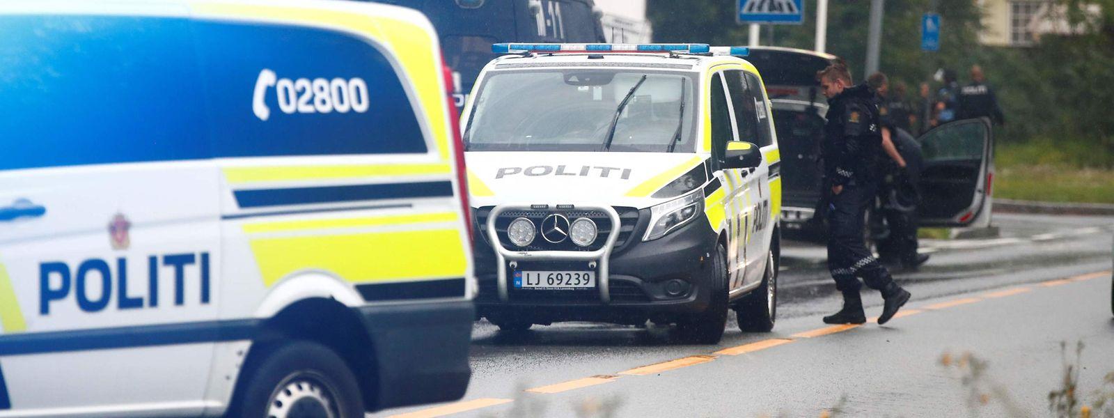 Die Schüsse fielen in einer  Moschee in der Nähe der norwegischen Hauptstadt Oslo.