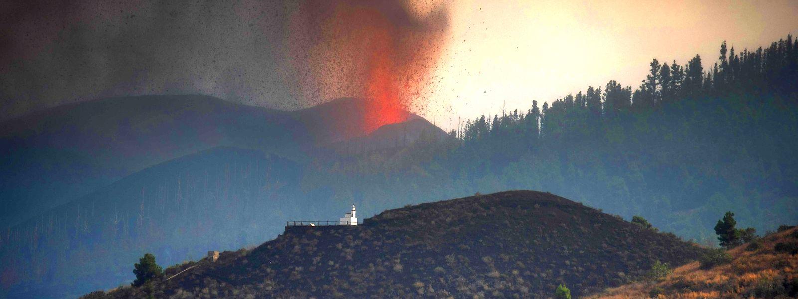 Après cinquante ans de sommeil, le Cumbre Vieja est entré en éruption le 19 septembre.