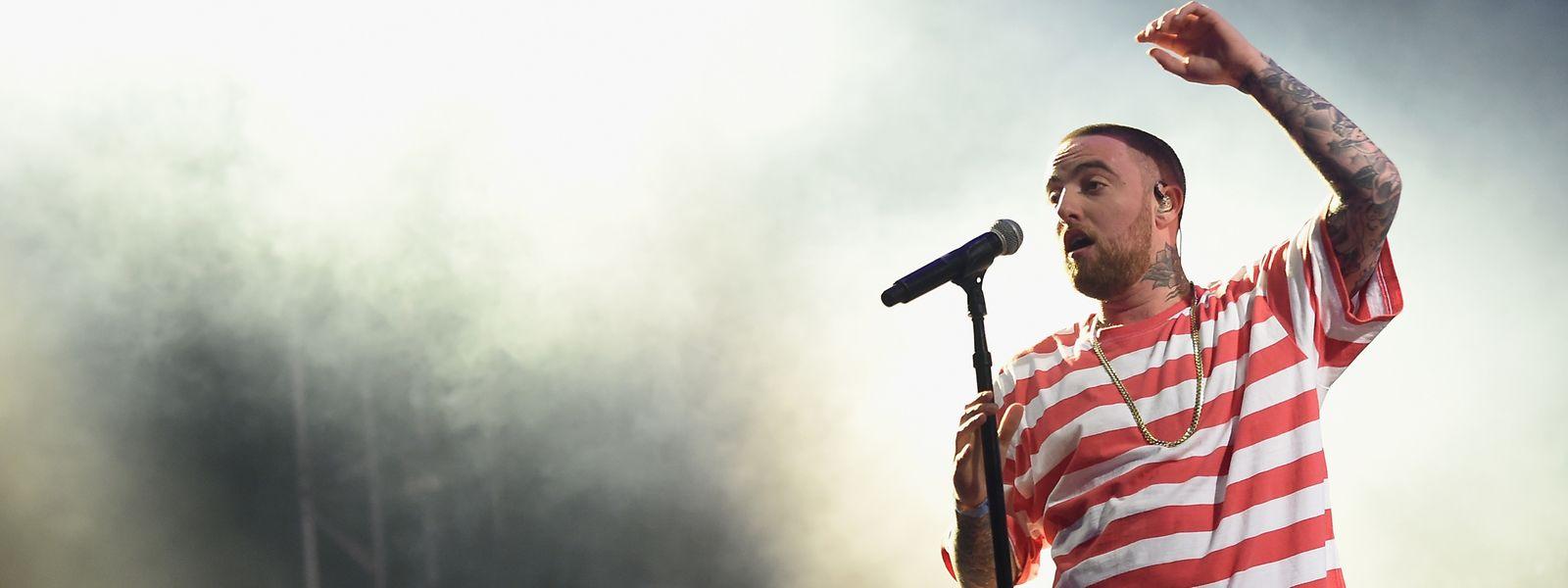 US Rapper Mac Miller im Oktober 2017.
