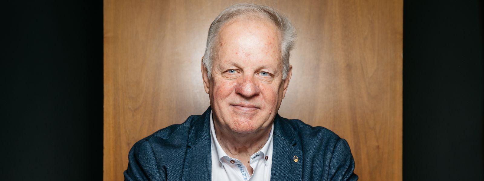 """Nobert Geisen war 20 Jahre lang Präsident der """"Fédération des Artisans""""."""