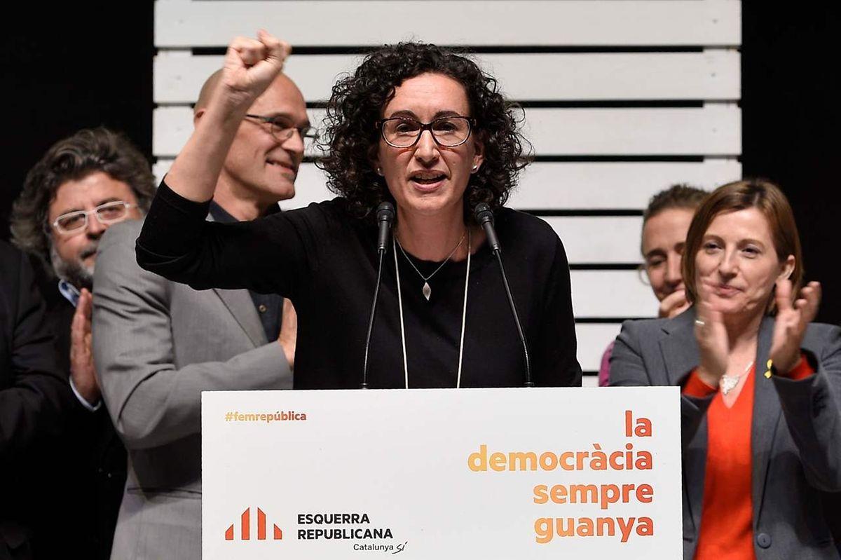 Marta Rovira, da 'Esquerra Republicana de Catalunya.