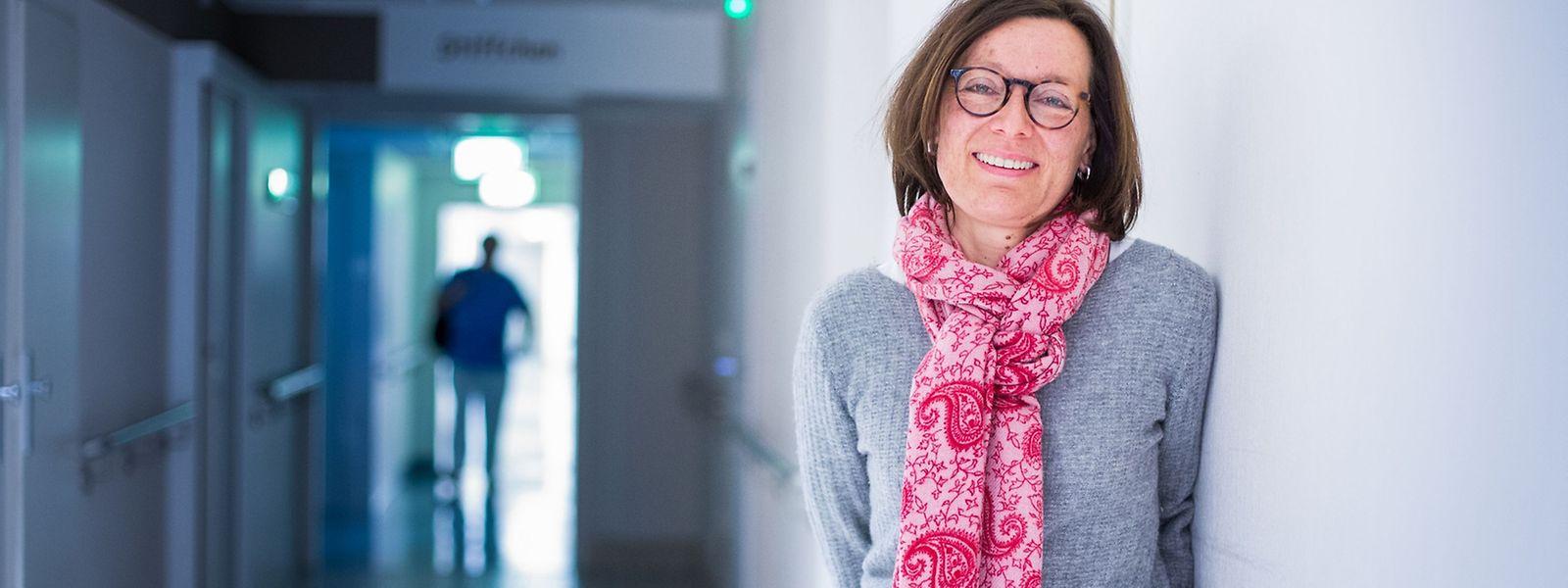 Annette Schütz weiß, dass das Leben nicht gerecht ist – und gibt ein Stück von ihrem Glück ab.