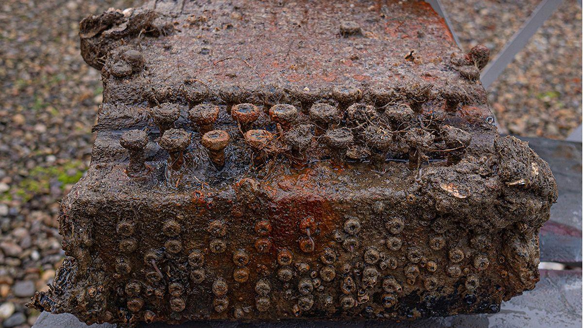 Die Chiffriermaschinen sollen nach Abschluss der Konservierung in einem Museum ausgestellt werden.