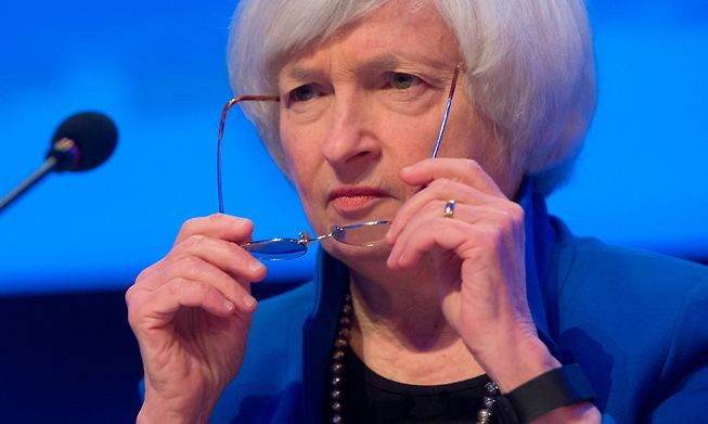 US Treasury Secretary Janet Yellen