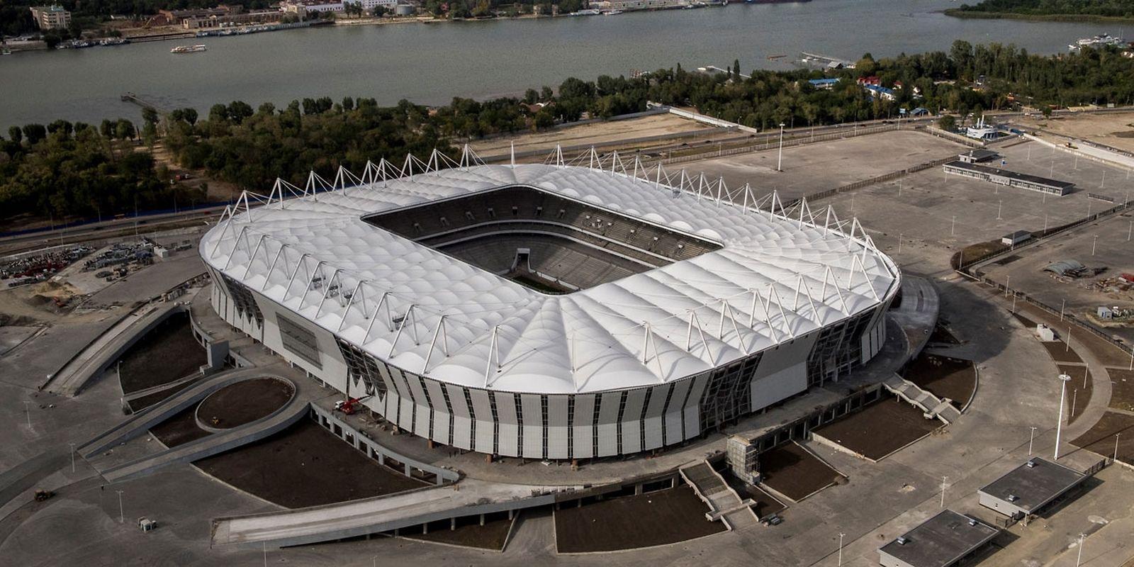 Rostov Arena (45.000 places). Matchs disputés (5): Brésil - Suisse (17 juin), Uruguay - Arabie saoudite (20 juin), Corée du Sud - Mexique (23 juin), Islande - Croatie (26 juin), un huitième de finale (2 juillet).