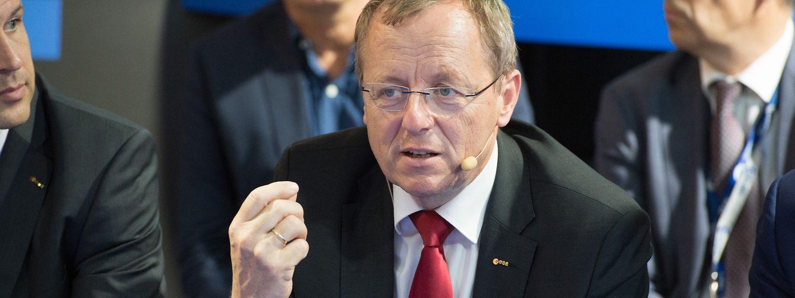 ESA-Chef Jan Wörner ist überzeugt vom hohen gesellschaftlichen Nutzen der Raumfahrt – auch in der aktuellen Krise.