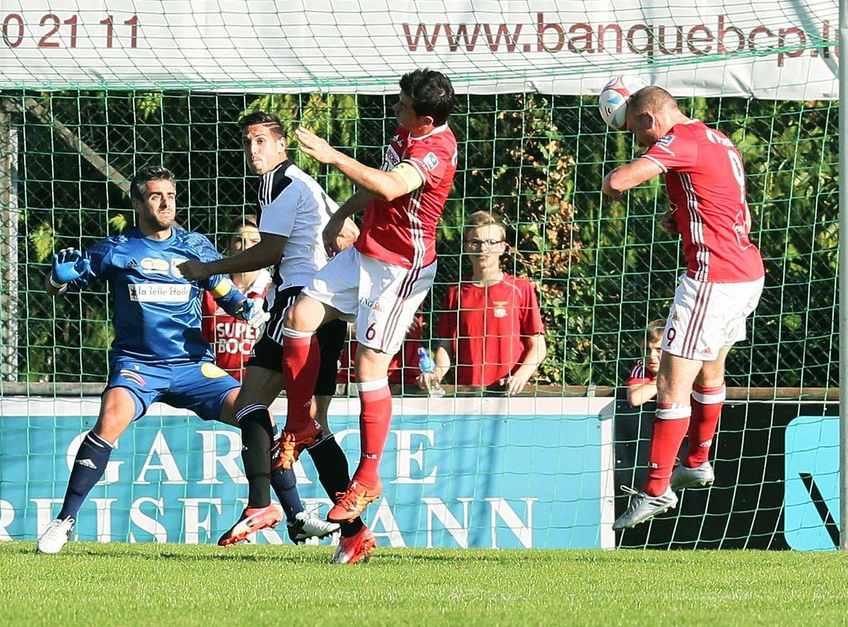 Contre la Jeunesse, Benjamin Runser avait ouvert le score pour le RM Hamm Benfica.