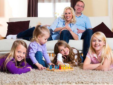 Einheitliches Kindergeld: Für kinderreiche Familien steigen die Geldleistungen nicht mehr mit der Anzahl an Kindern.