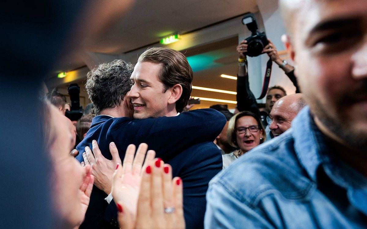 Die konservative ÖVP von Parteichef Sebastian Kurz hat die Parlamentswahlen in Österreich mit großem Vorsprung gewonnen.
